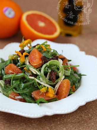 意式鸡肉甜橙沙拉的做法