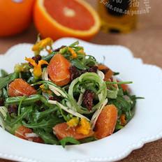 意式鸡肉甜橙沙拉