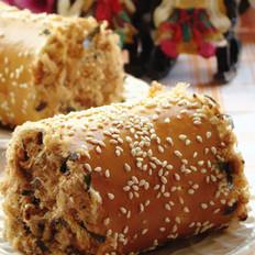 肉松芝麻面包卷