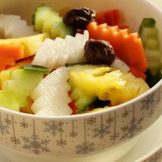 五色菠萝泡菜