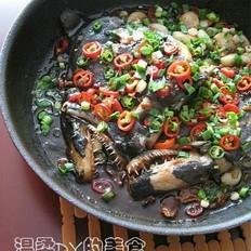 香煎深海鱼头