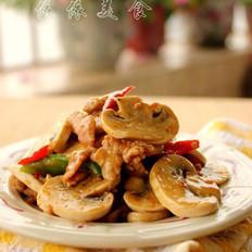 黑椒蘑菇肉片