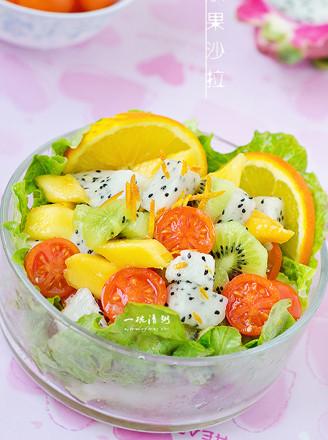 橙汁水果沙拉的做法