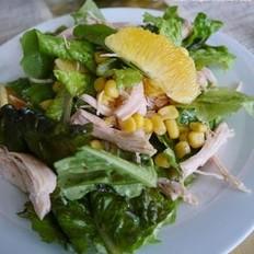 鸡胸肉玉米沙拉
