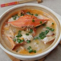 海蟹砂锅粥
