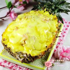 虾仁菠萝焗饭