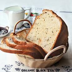 糯米黑芝麻面包