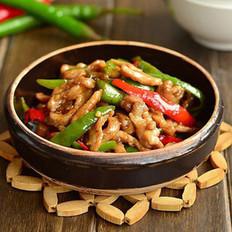 尖椒炒肉丝