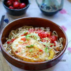 西红柿煎蛋面