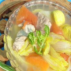 栗子排骨汤
