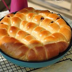 花生酱提子面包