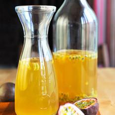 百香果蜂蜜绿茶
