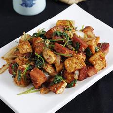酱香孜然豆腐