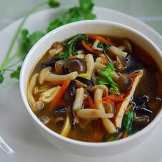 酸辣蘑菇汤