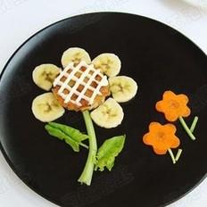 向日葵米饼