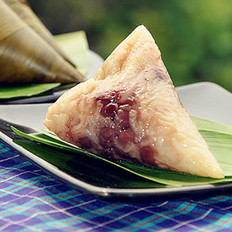 蜜枣红豆花生粽