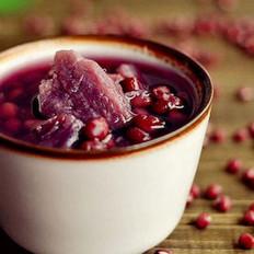 红豆紫薯甜汤