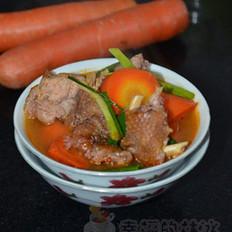 柴鸡炖胡萝卜