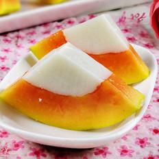 木瓜椰浆冻