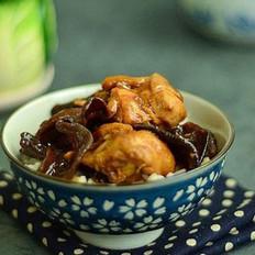 木耳冬菇蒸鸡