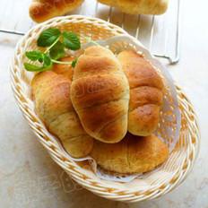 全麦蜂蜜面包卷