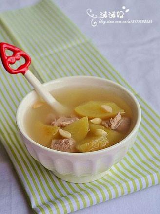 苹果南北杏瘦肉汤的做法