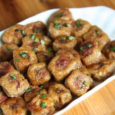 照烧珍珠油豆腐塞肉