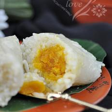 猪肉蛋黄粽