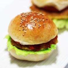 鲜虾玉米小汉堡