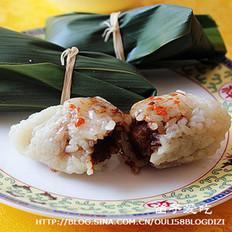 猪油豆沙粽