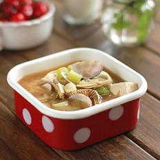 海鲜味噌汤的做法大全
