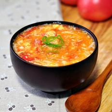 番茄金针蛋花汤
