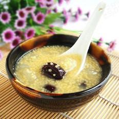 小米红枣雪梨粥