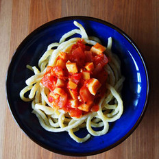 杏鲍菇番茄意面