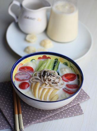 豆浆冷面的做法