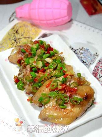 蚝油剁椒鸡翅的做法