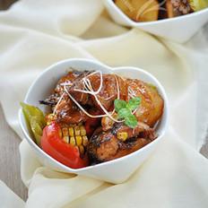 黑鱼鸡肉焖锅