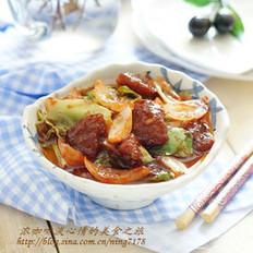 甜辣炒粽子