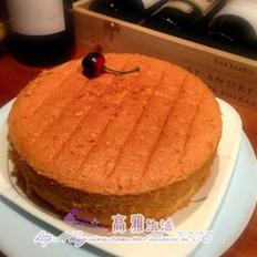 淡奶油海綿蛋糕