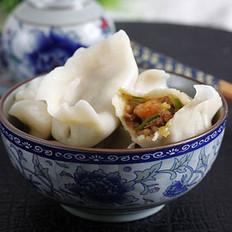 煸肉三鲜饺子