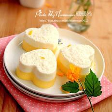 芒果酸奶冻芝士蛋糕
