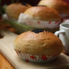 汤种抹茶Q心红豆面包