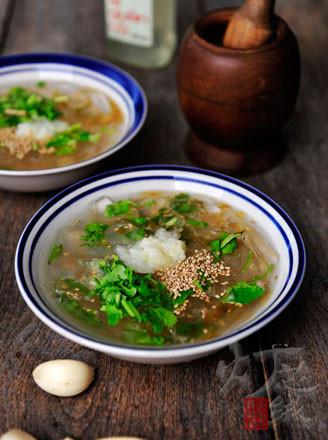 鲜海蜇汤的做法