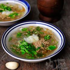 鲜海蜇汤的做法大全