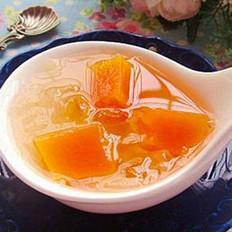木瓜银耳桃胶糖水