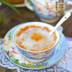 椰奶木瓜炖雪蛤