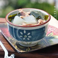 鸭肉裙带冬瓜汤