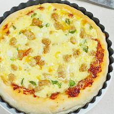 牛肉青椒披萨
