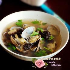 花蛤紫菜汤
