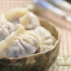 紫甘蓝猪肉水饺